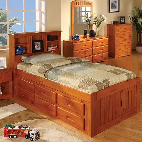 Simmons Wood Bed Frame Configuration