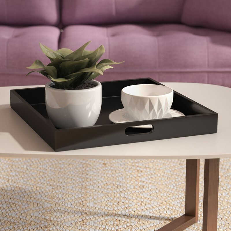 Tray Coffee Table Makeover: Zipcode Design Serving Tray & Reviews