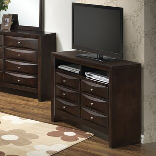 Beige Bedroom Media Chests