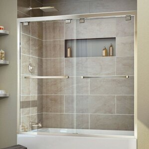 Bathroom Glass Door shower & bathtub doors you'll love | wayfair