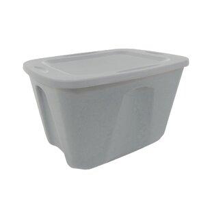 18 Gallon Plastic Storage Tote (Set of 4)  sc 1 st  Wayfair & 20 Gallon Storage Tote | Wayfair
