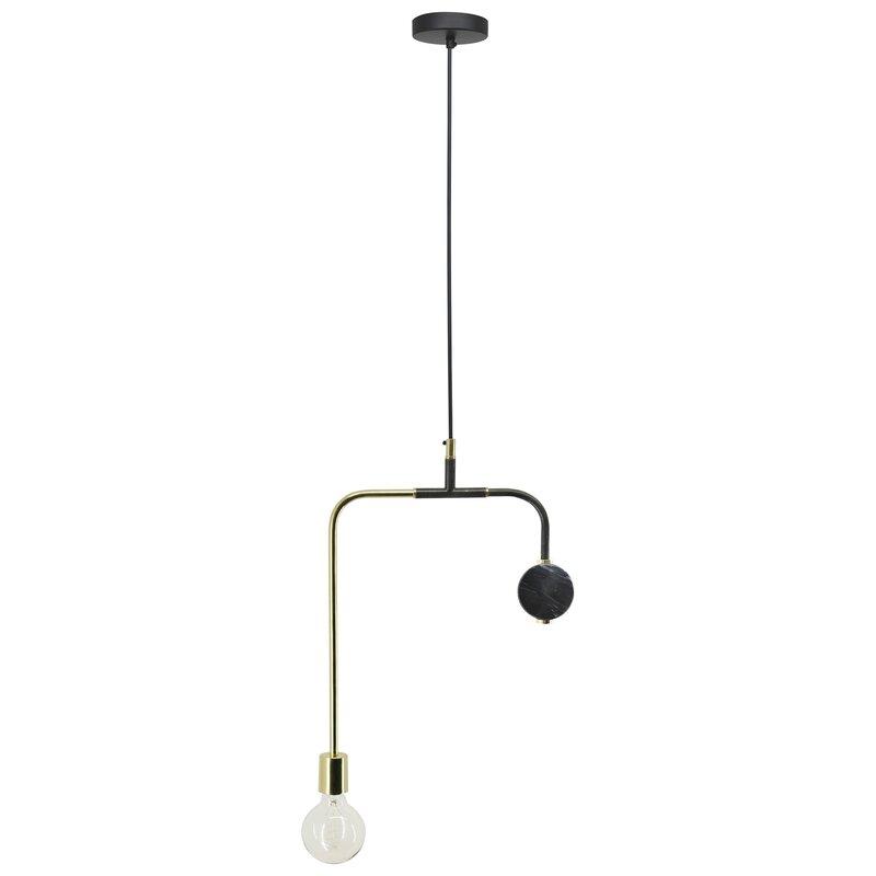 George Oliver Valle 1-Light Bulb Pendant
