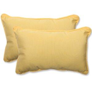 canvas outdoor sunbrella lumbar pillow set of 2 - Sunbrella Outdoor Pillows