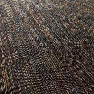 Epsom 24 X Carpet Tile In Black Velvet By Mohawk Flooring