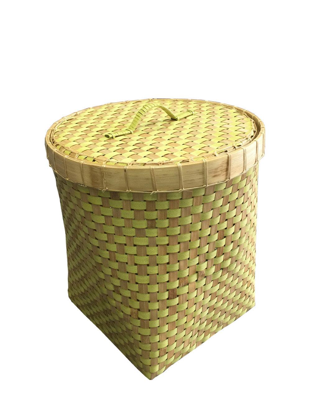 D-Art Collection Wicker Basket with Lid | Wayfair