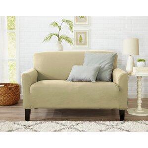 Box Cushion Loveseat Slipcover..