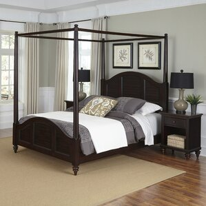 Harrison Coastal Canopy 3 Piece Bedroom Set