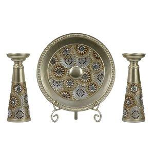 Venus 4 Piece Candlestick Set