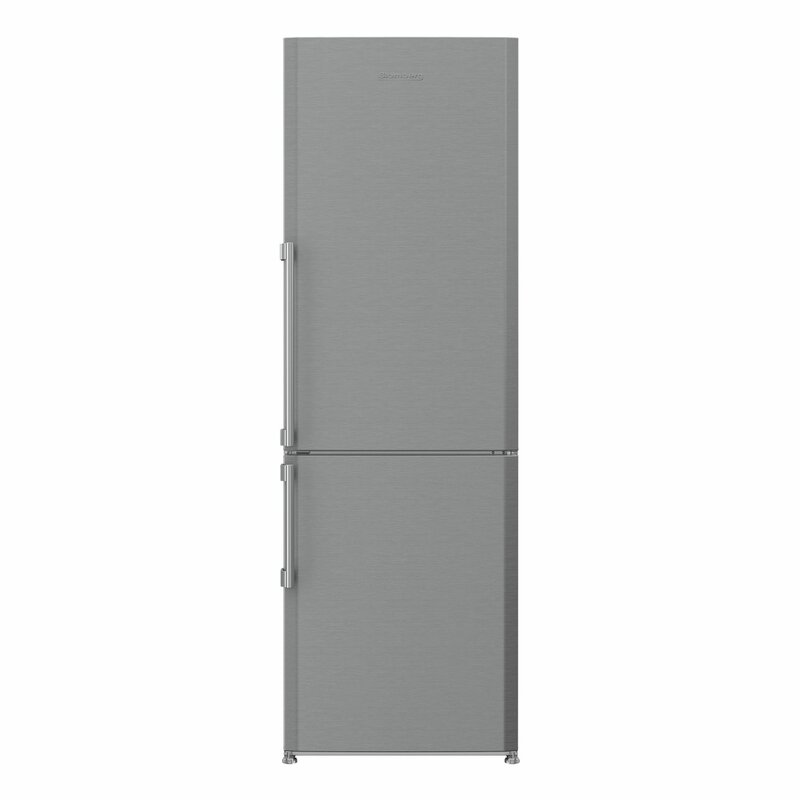 Blomberg 11.35 cu. ft. Energy Star Counter Depth Bottom Freezer Refrigerator with Internal Ice Maker