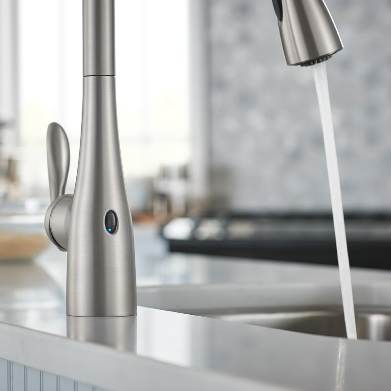 Arbor Pull Down Touchless Single Handle Kitchen Faucet with MotionSense™  and Power Clean™ Technologies