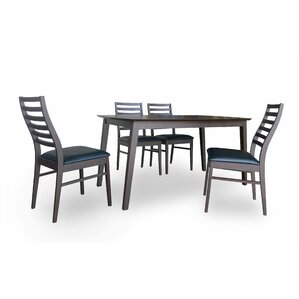 Cafe 5 Piece Dining Set by New Spec Inc