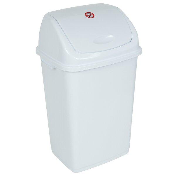 Superior Performance Plastic 13 Gallon Swing Top Trash Can Reviews Wayfair