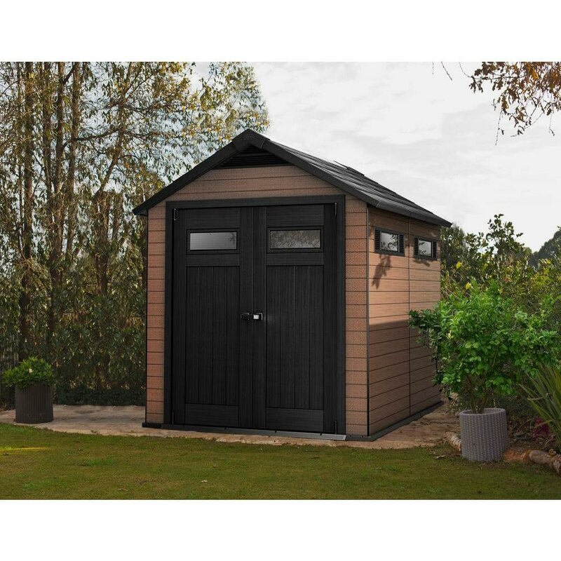 fusion 7 ft 6 in w x 9 ft 5 in d - Garden Sheds 7 X 9