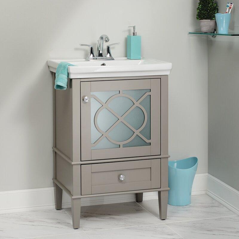 Willa Arlo Interiors Wheatley 24 Single Bathroom Vanity Set