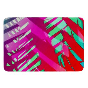 Hot Tropical by Alison Coxon Bath Mat