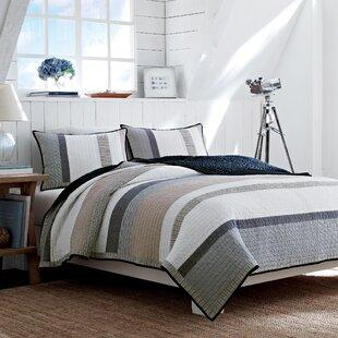 Exceptional Tideway Cotton Reversible Quilt