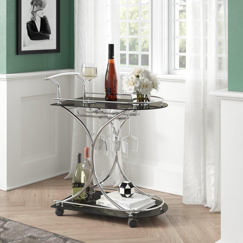 Willa arlo interiors ajax bar cart reviews wayfair - Willa arlo interiors keeley bar cart ...