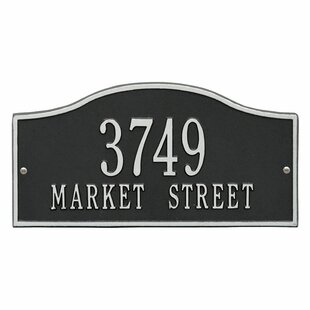 09787eb5239 Hall Address Plaque. By Charlton Home