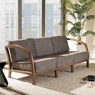 41c20e5b11a Baxton Studio Arrigo 3 Seater Sofa
