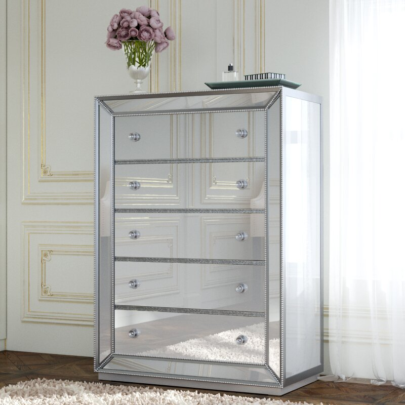 Willa Arlo Interiors Acuna 5 Drawer Bedroom Chest & Reviews | Wayfair