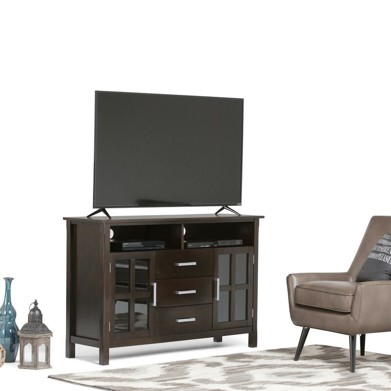 """Simpli Home Kitchener 53"""" TV Stand & Reviews"""