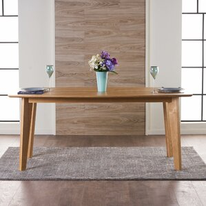 Marlene Wood Dining Table by Union Rustic
