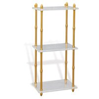 bookshelves shelf glory interior pin chrome cube white angle bedroom bath alexandra shelves etagere bookcases closet lucite and three bookcase master