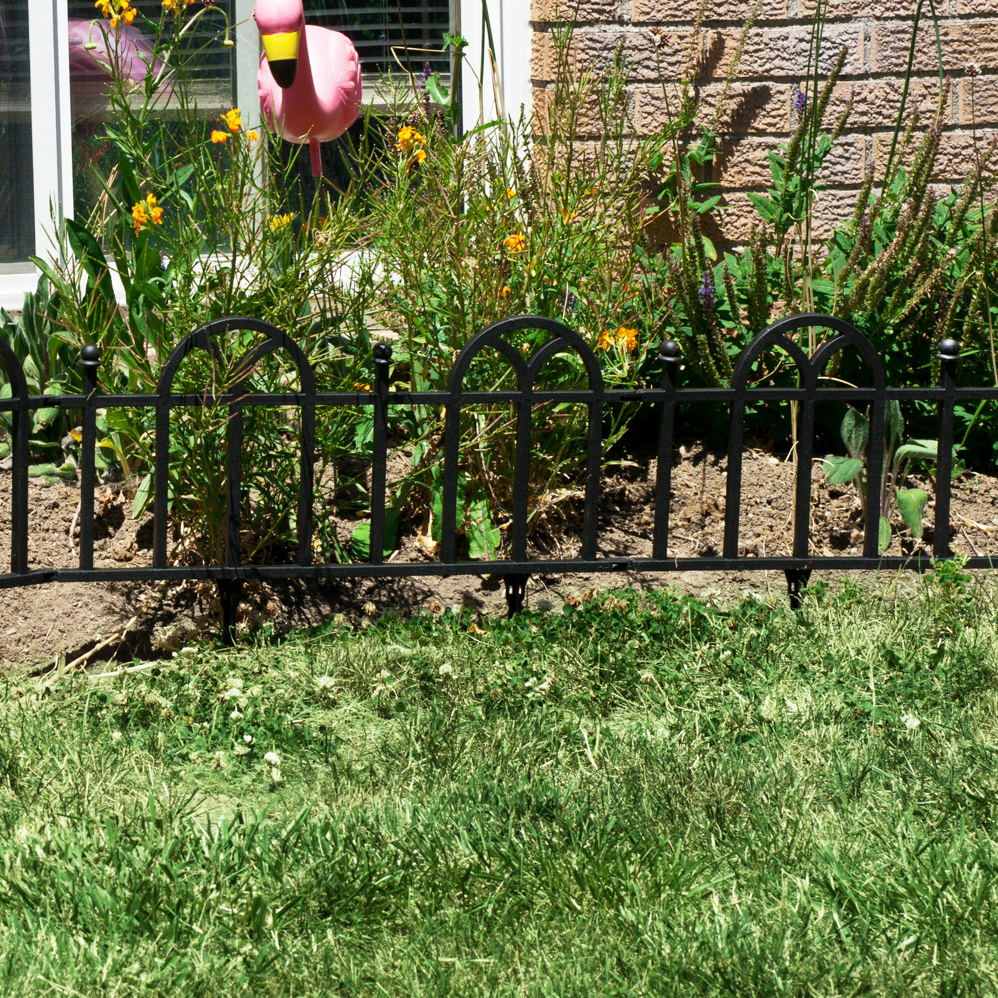 Pure Garden 15.8 in. x 24 in. Victorian Garden Border Fencing ...