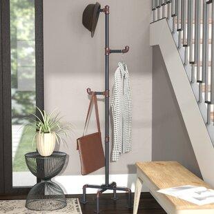 Industrial Pipe Coat Rack Wayfair