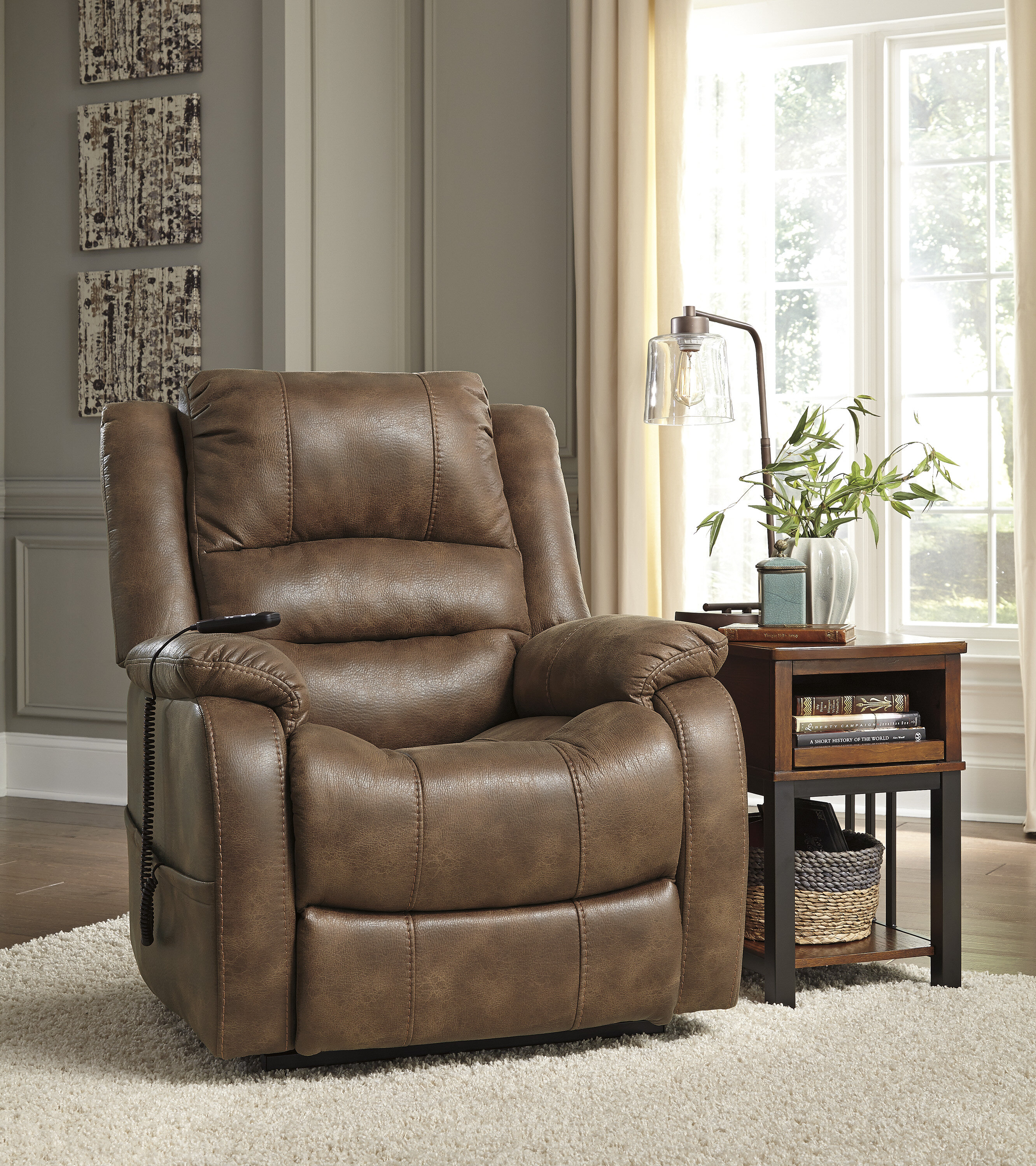 Darby Home Co Forreston Power Lift Recliner & Reviews | Wayfair