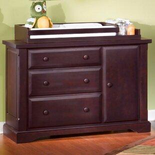 Hawthorne 3 Drawer Combo Dresser By Child Craft