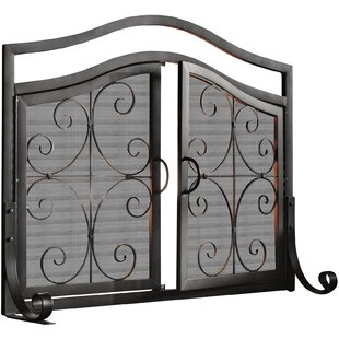 Black Iron Fireplace Screen. Search results for  small fireplace screen Small Fireplace Screen Wayfair