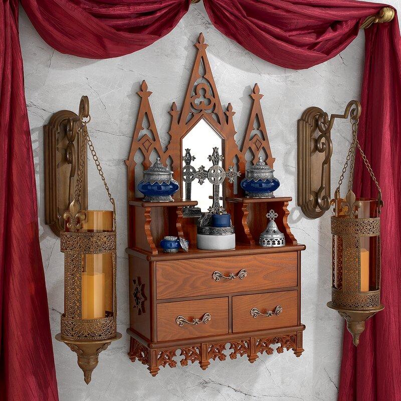 Design Toscano Claremont Manor English Console Table Wayfair