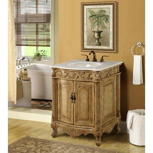 Distressed Bathroom Vanity   Find The Perfect Distressed Finish Bathroom Vanities Wayfair