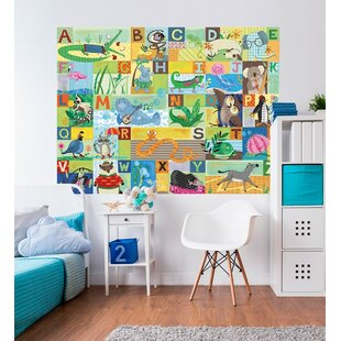 ABC Animal Action By Jessica Flick Wall Decal