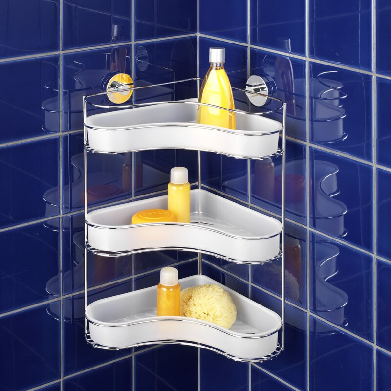 Wenko Vacuum-Loc Shower Caddy & Reviews | Wayfair.co.uk