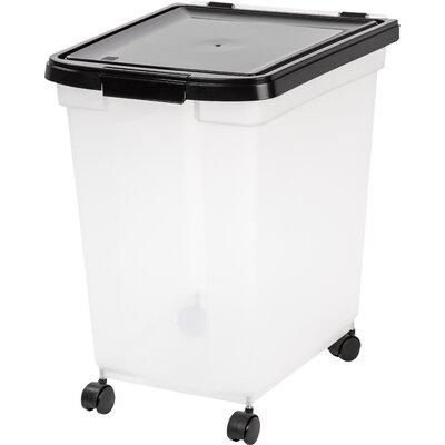 Airtight 65-Qt. Pet Food Storage Container  sc 1 st  Wayfair & IRIS 50 lb. Food Storage Container u0026 Reviews | Wayfair