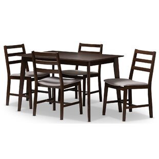 Winfree Upholstered 5 Piece Dining Set