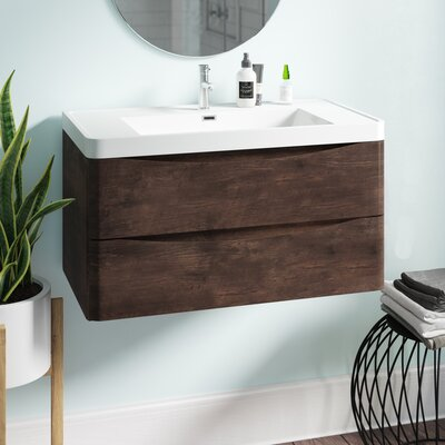 Vanity units bathroom units sink cabinets - Wayfair furniture bathroom vanities ...