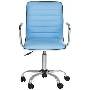 Geib Leather Desk Chair