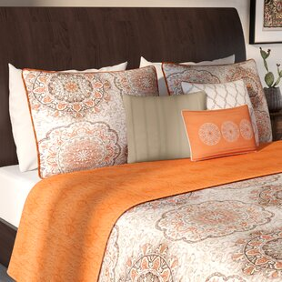Orange   Teal Bedding You ll Love  b7cab9a4fa38