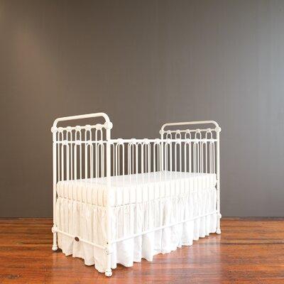 Bratt Decor Joy Baby 3-in-1 Convertible Crib Color: White