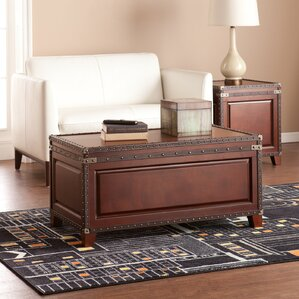Alcott Hill Newton Coffee Table Trunk