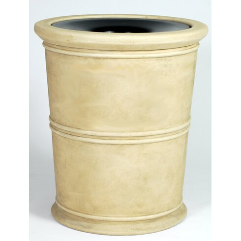 Allied Molded Products Havana Receptacle 35 Gallon Trash Can Wayfair