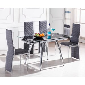 Boothe 5 Piece Dining Set by Orren Ellis
