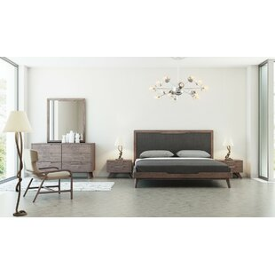 Furniture for bedroom design White Hali Platform Piece Bedroom Set Allmodern Modern Contemporary Bedroom Sets Allmodern