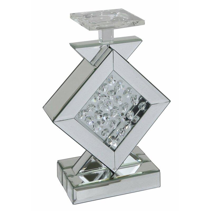fairmont park kerzenleuchter hexham diamond aus glas bewertungen. Black Bedroom Furniture Sets. Home Design Ideas