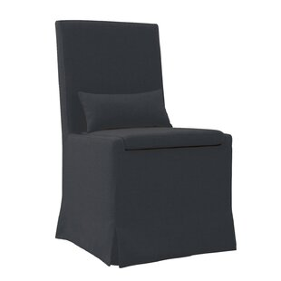 Hoang Dining Charcoal Gray Upholstered Dining Chair