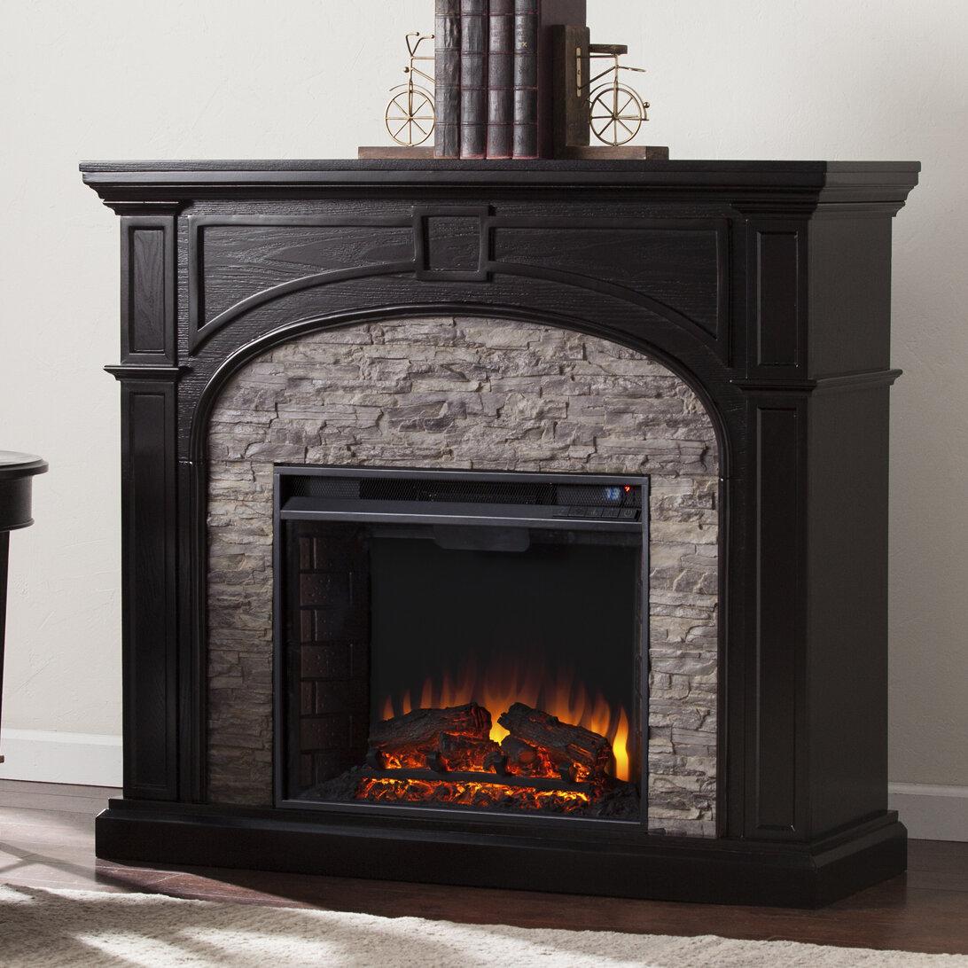 Three Posts Boylston Electric Fireplace Amp Reviews Wayfair
