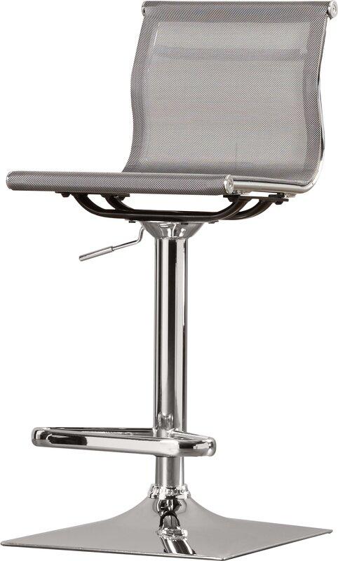 Bartow Adjustable Height Swivel Bar Stool